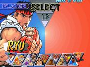 Street Fighter III 2nd Impact - select character screen