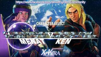 Street Fighter V Costumes, Menat, Colors, e-Capcom EX03, Easter Egg (Datamining)