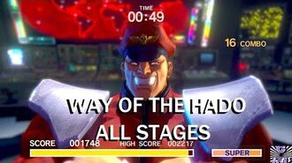Way of the Hado ALL STAGES! Ultra Street Fighter II The Final Challengers (Nintendo Switch)