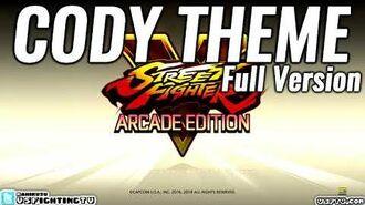 SFV ARCADE EDITION - Cody Theme (full version)