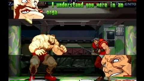 Street Fighter Alpha 3 Zangief Full Storyline and Ending (improved quality)