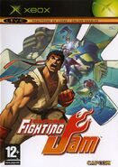 Capcom Fighting Jam (XBOX - cubierta europa)