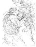 SFIV-Ryu vs Ken concept