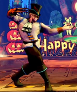SFV Vega Halloween Hidden Costume