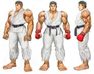 SFIV PC Concept Art Ryu 02