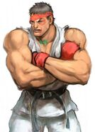 SFIV PC Concept Art Ryu 06