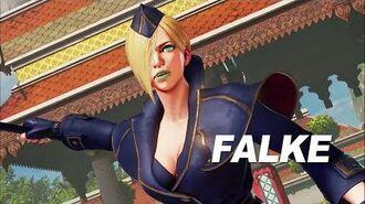 Street Fighter V Arcade Edition - Falke Gameplay Trailer