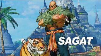 Street Fighter V Arcade Edition - Sagat Gameplay Trailer