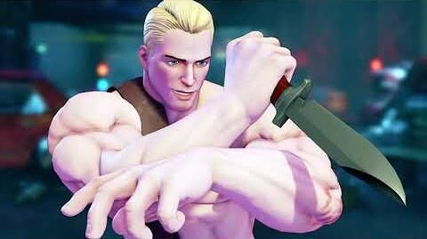 Street Fighter V Arcade Edition - Cody