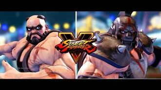 Street Fighter 5 Zangief sporty + alternate