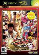 Street Fighter Anniversary Collection Xbox cover
