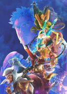 Streetfighterv-special-edition-poster-art-by-bengus-clean