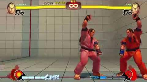 Dan Trial Challenge Street Fighter 4