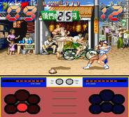 Street Fighter Ken Sei Mogura gameplay