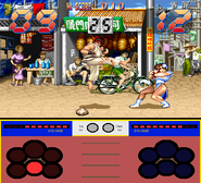 Street Fighter Ken Sei Mogura gameplay