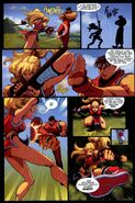 Street Fighter II Turbo 7 pag 24 -- Final Fight bonus story pag 3 -- Eric Vedder