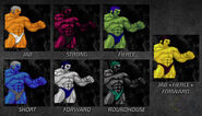 Urien color pack 2