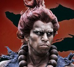 Joey Ansah as Akuma (Gouki) - SF Assassin's Fist