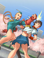 Cammy vs Sakura