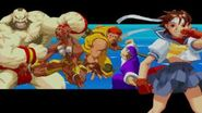 Street Fighter Alpha II game introduction