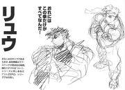 SFIII NG-Ryu concept art