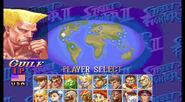 SSFII Turbo Character select