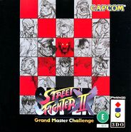 Super Street Fighter II Turbo (3DO - cubierta Japón)