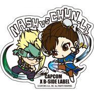 Capcom-x-bside-label-sticker-l-street-fighter-nash-chunli-422995.1