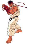 Ryu-SFIII2ndImpact-artwork