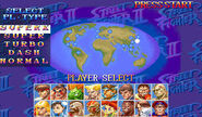 Hyper Street Fighter II The Anniversary Edition - select pl-type
