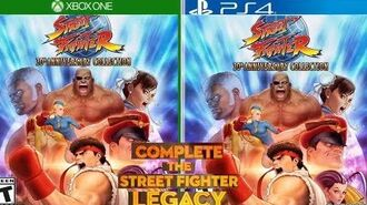 Street Fighter 30th Anniversary Collection Ultra SFIV Pre Order Trailer