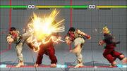 Crush Counter Ryu vs Ken