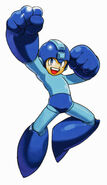 MvCapcom - Clash of Super Heroes - Mega Man artwork