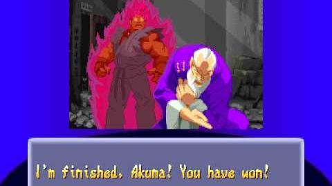 Street Fighter Alpha 2 - Gouki Ending