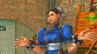 Street Fighter X Tekken - Chun-li & Cammy's Rival Cutscene Japanese Ver. (1080p)