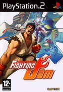 Capcom Fighting Jam (PS2 - cubierta europa)