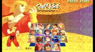 SFA2 Gold Character Select