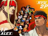 SFIII 3rd Strike - select character screen