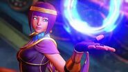 SFV- Menat Reveal Trailer