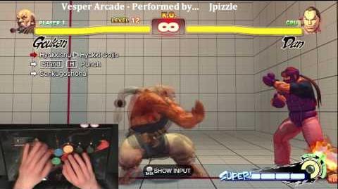 Super Street Fighter 4 Trials - Gouken