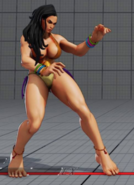SFV Laura Summer Hidden Costume Easter Egg