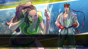 Laura vs Ryu SFV