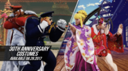 SFV 30th Anniversary Costumes