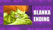 Super Street Fighter II Turbo - Blanka Ending