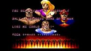 Street Fighter II' Vega Ending