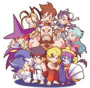 Pocket Fighter cast-1