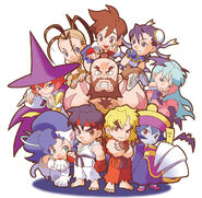 Pocket Fighter cast-1