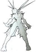 Ibuki-streetfighter3-electric-shock-sprite-concept-art
