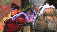 SFXT - Juri Bison Rival Battle Cutscene