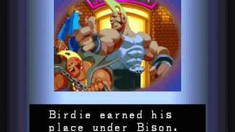 Street Fighter Alpha Birdie Ending